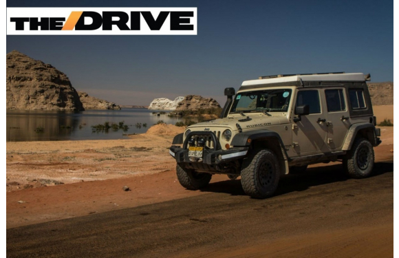 The Drive: Aussie Adventurer Lives in 2011 Jeep Wrangler for 999 Days While Exploring Africa