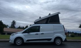 Ford Transit Connect - Cargo Van Conversion