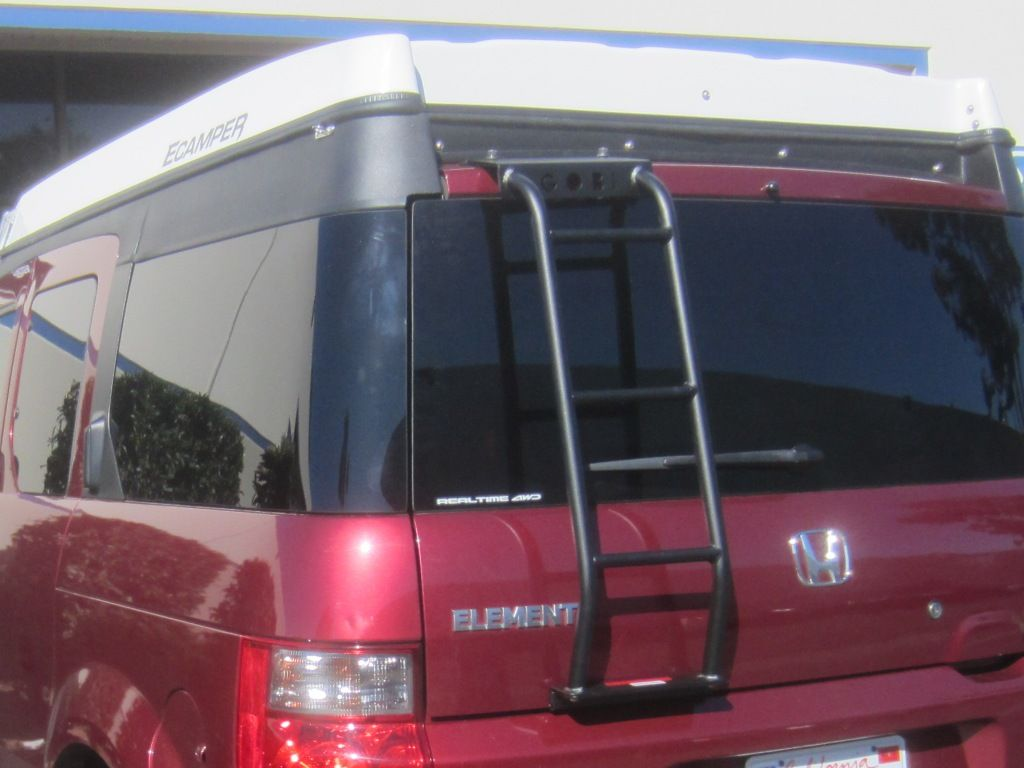 Gobi ECamper Rear Ladder