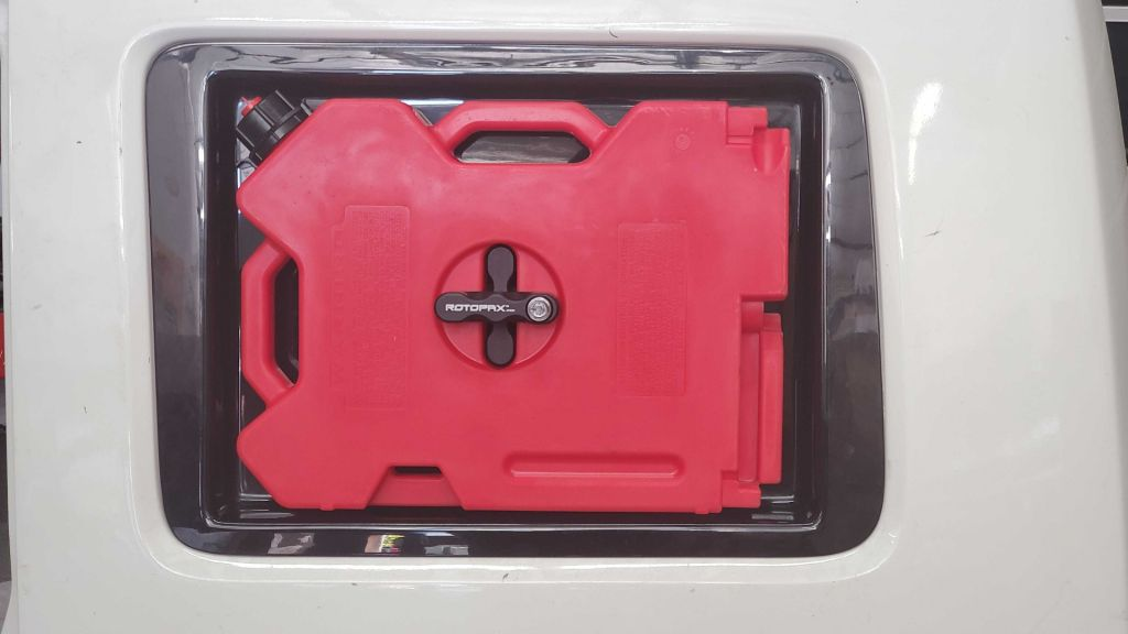 Window Insert for Rotopax Container