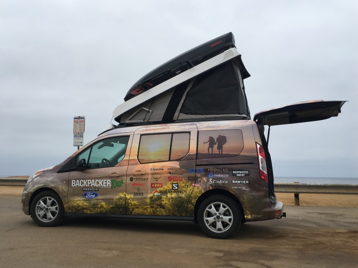 Backpacker - Get Out More Tour - Camper